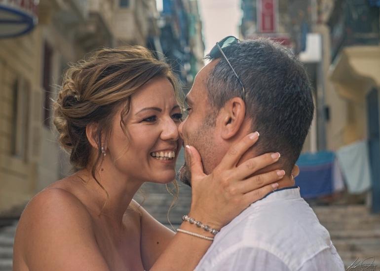 Zsófi és Zoli - máltai esküvő