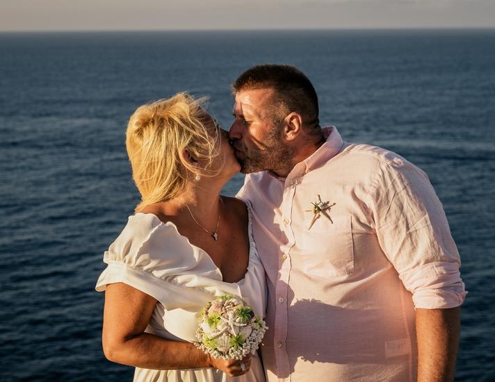 Alíz és Sanyi - máltai esküvő