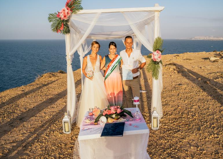 Kitti és Zsolti - máltai esküvő