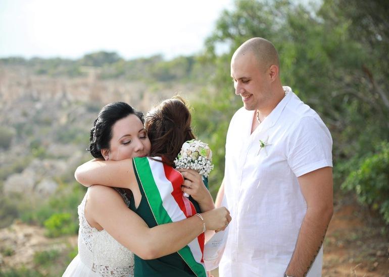 Szilvi és Petya - máltai esküvő
